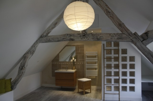 Rénovation Maison Style Retro À La Campagne À Andé (27) Normandie