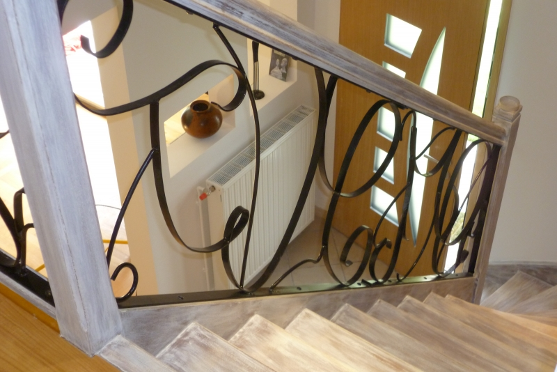 Escaliers Main Courante Balustre Garde Coprs On Pinterest Habitats Staircase Design And