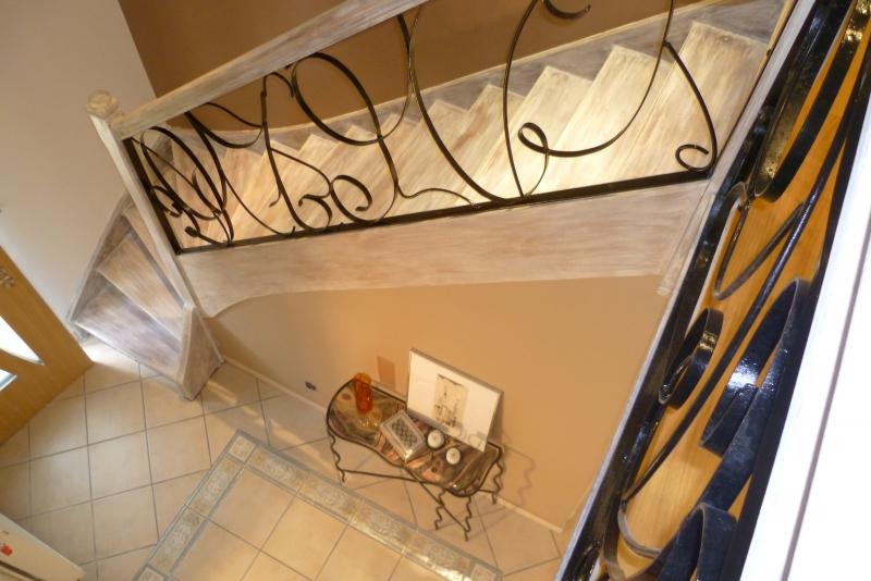 Avant apr s relooking extr me d 39 un s jour et escalier rouen 76 normandie - Moderniser un escalier en bois ...