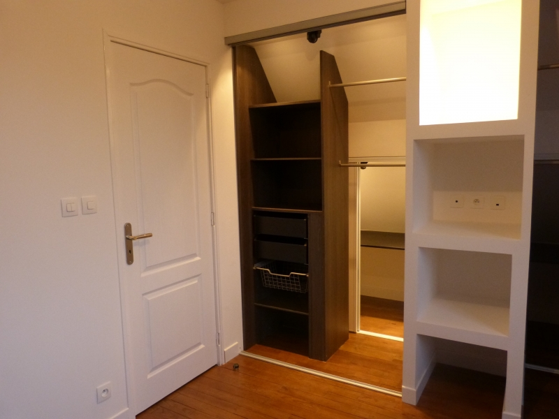 Amenager chambre mansardee meilleures images d for Amenagement chambre mansardee