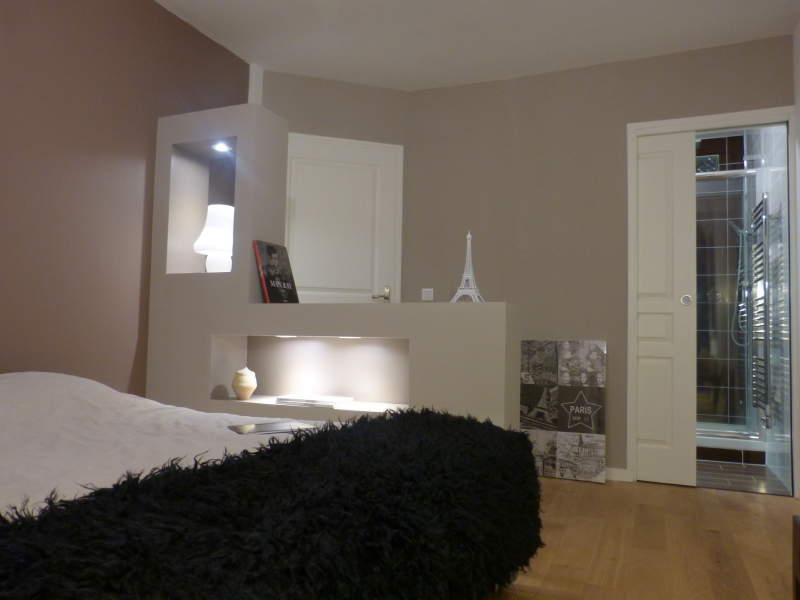 D coration chambre parentale contemporaine 77 nantes Chambre contemporaine zen