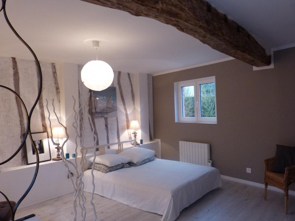 Cr ation d 39 une chambre d 39 h te grumesnil rouen 76 le petit quevilly - Creation maison d hote ...